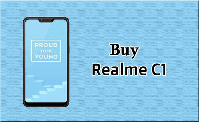 Buy Realme C1 for Rs. 7,999 from Flipkart