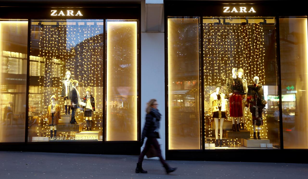 Zara launches online sales in 106 countries